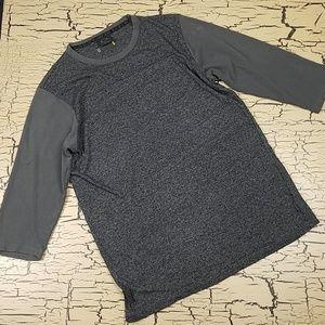 Oakley Raglan 3/4 Sleeve Shirt Mens size Med